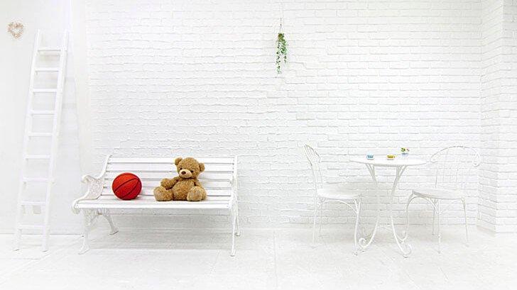 Barbie studio 白い壁