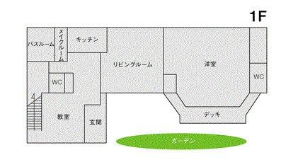 STUDIO LIP 明大前 フロアマップ1F