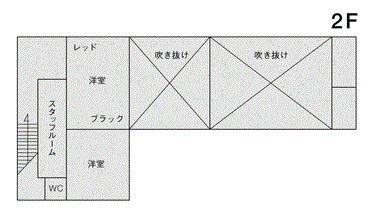 STUDIO LIP 明大前 フロアマップ2F