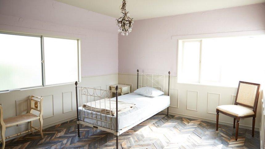 Studio Leonard ベッドルーム