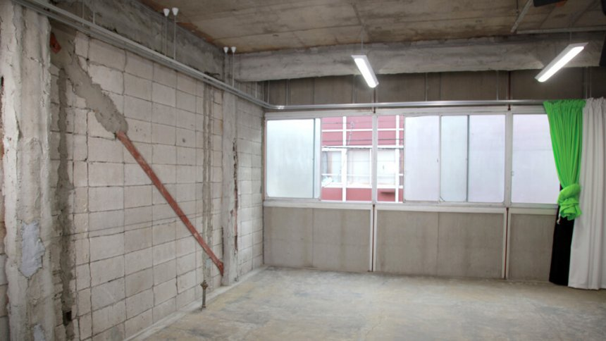 Tranbanero コンクリート壁面1