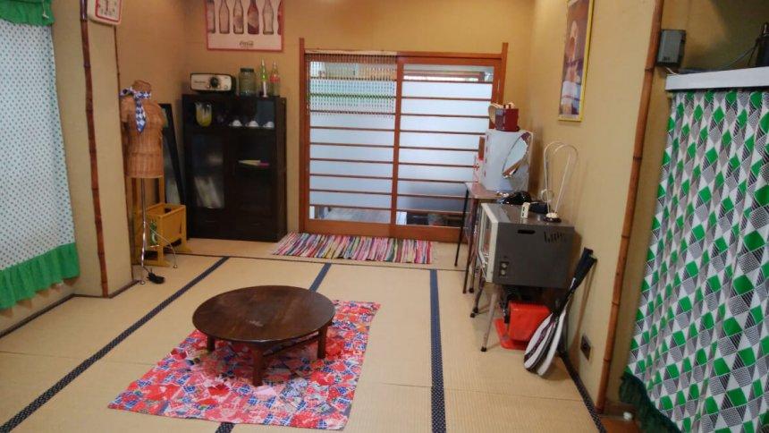 Rental studio コマチ堂 レトロポップな昭和風の和室