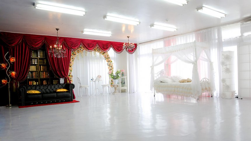 studio qapla ゴシック&天蓋ベッド