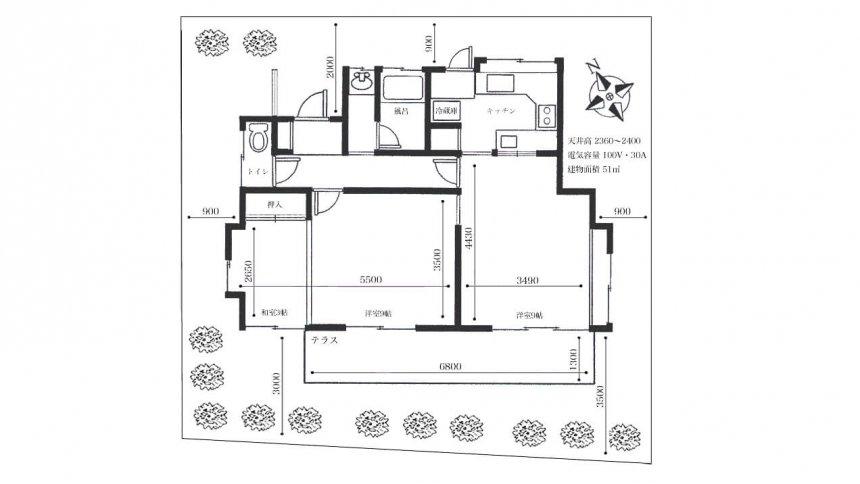 杉並ハウススタジオ フロアマップ