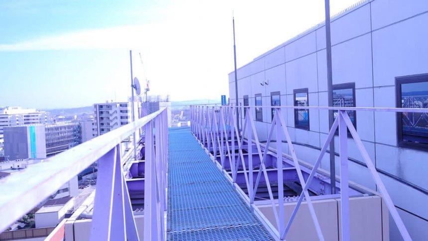 コスプレスタジオ ARIA 昼の屋上
