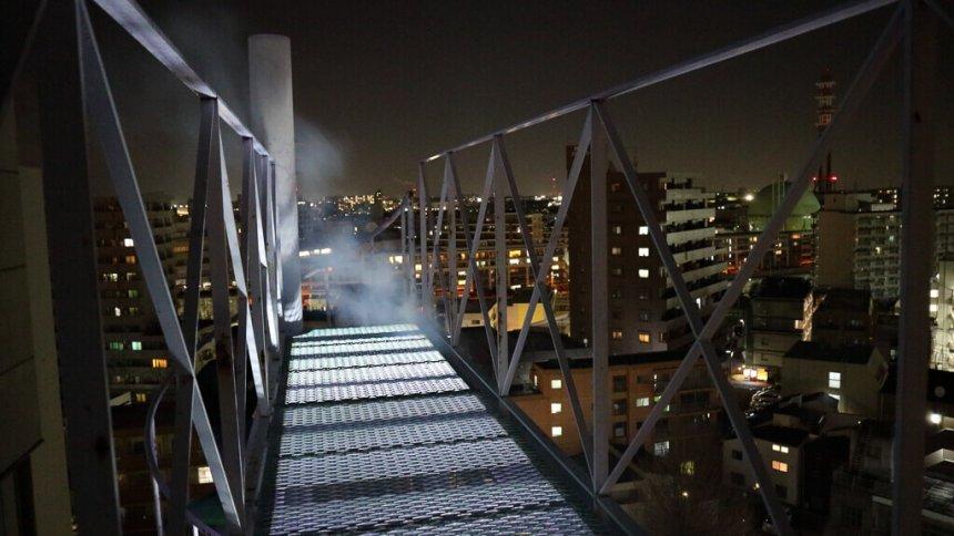 コスプレスタジオ ARIA 夜の屋上