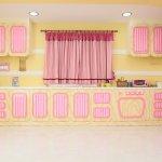 Fresh!Pastel Studio パステル調のキッチン1