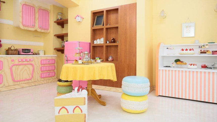 Fresh!Pastel Studio パステル調のキッチン2