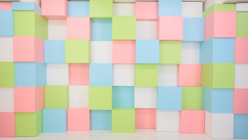 Fresh!Pastel Studio パステル調の壁2