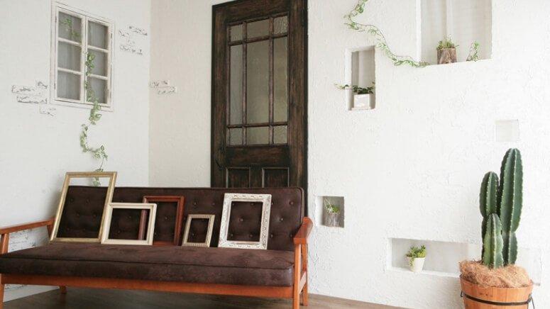 STUDIO P-BOUZU 1st 日本堤スタジオ アンティーク調の木製ドア