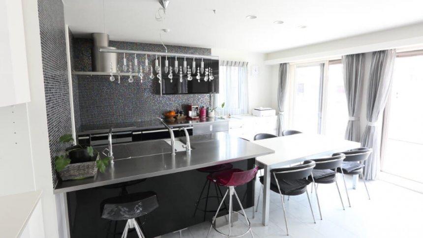 CIEL EMBRASE D-STUDIO キッチン1