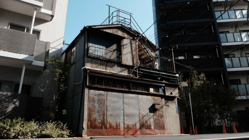 Fululu門仲ヴィンテージ1957 -福住の部屋- 外観2