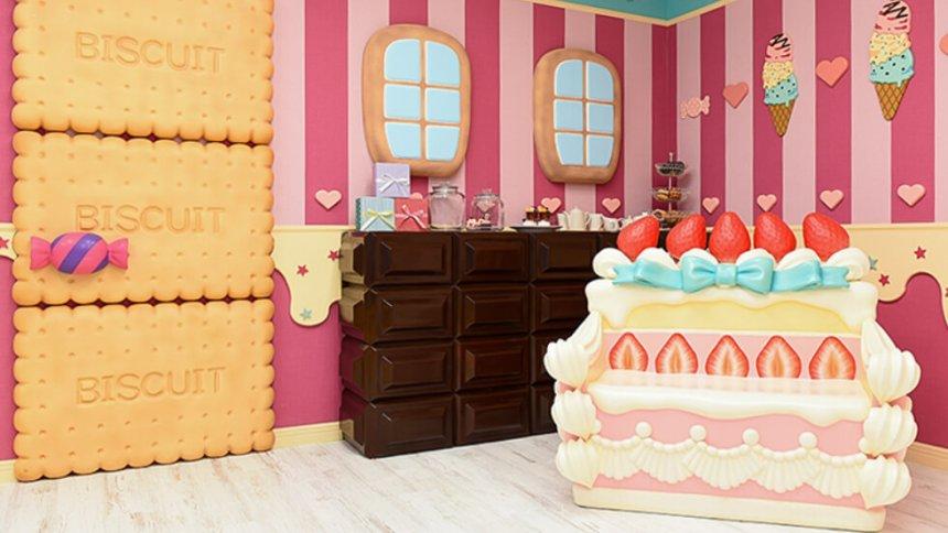 HACOSTADIUM 大阪 お菓子の家