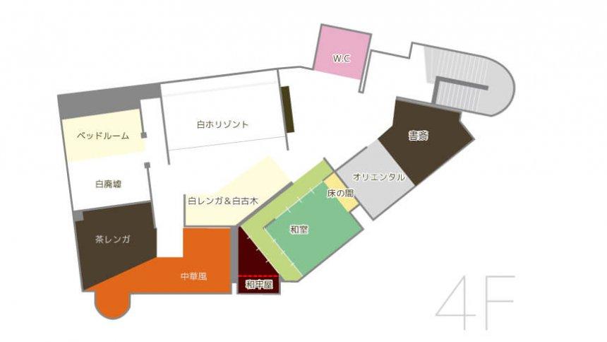 HACOSTADIUM 大阪 フロアマップ4F