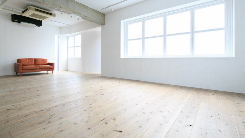 studio Flocke 中目黒3F ウッドの床面