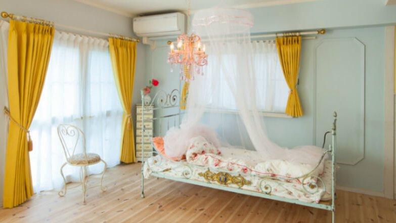 スタジオ Neroli 経堂 天蓋付きベッド