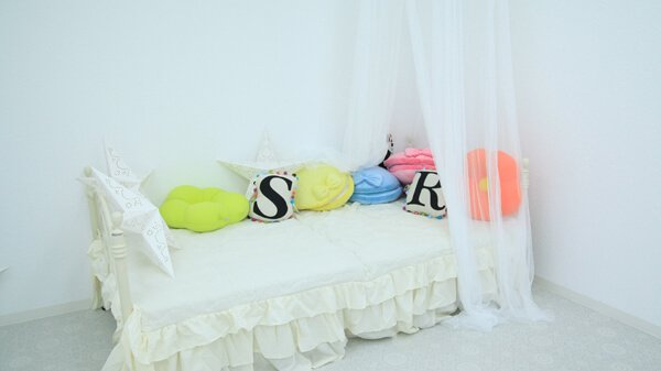 atelier Rara ホワイト 天蓋ベッド
