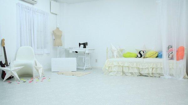 atelier Rara ホワイト ロマンティックソファーベッド