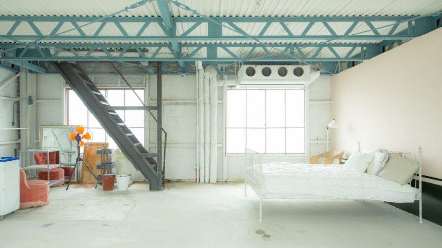 frank work studio ベッド