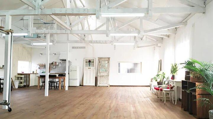 ハウススタジオはちよん Wooden floor 2F