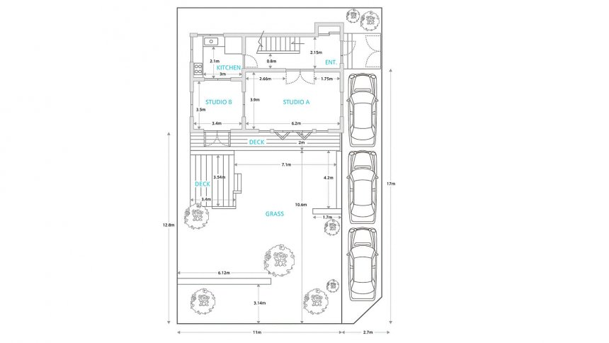 WALL STUDIO フロアマップ1F