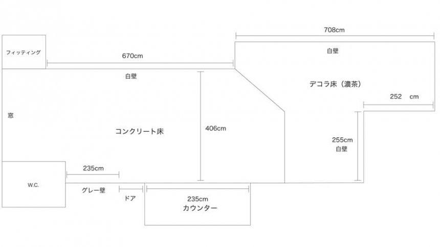 フォトスタジオ ジラフ フロアマップ