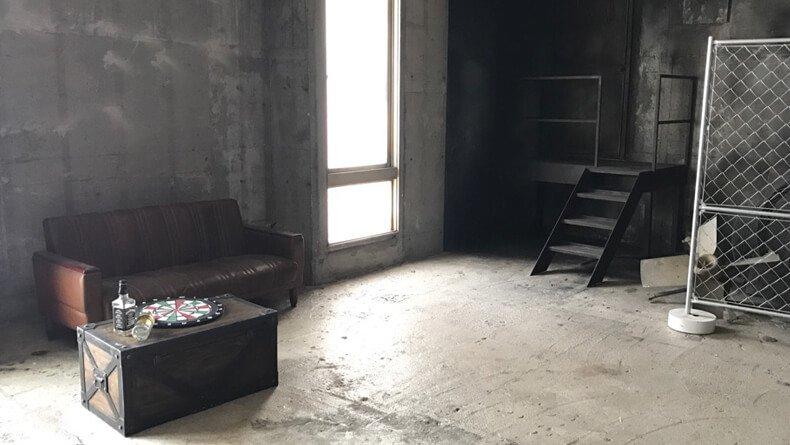 スタジオPLOTARTⅡ 廃倉庫2