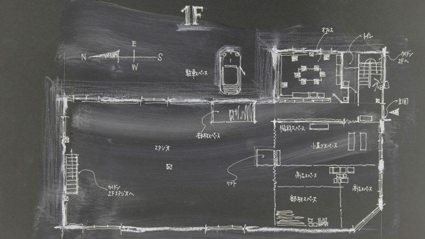 フォトスタジオ タクト フロアマップ1F