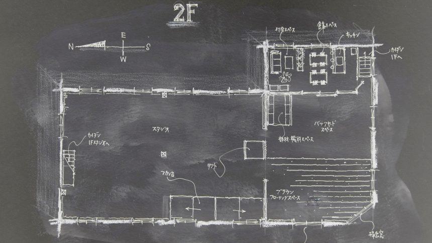 フォトスタジオ タクト フロアマップ2F