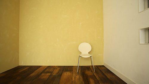 スタジオ ル・パルク 木の床