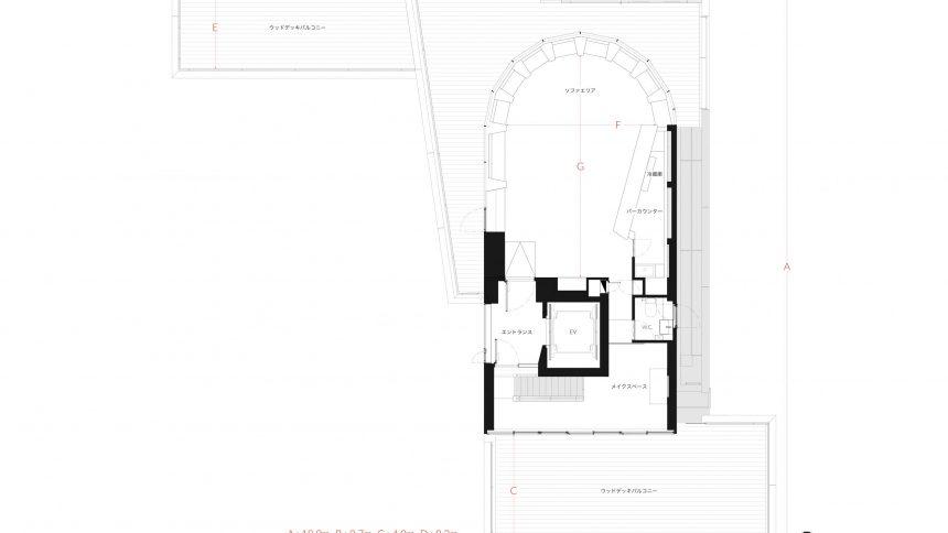 Studio TERRANOVA<Studio C> フロアマップ